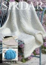Sirdar Gorgeous - 7963 Home Accessories Knitting Pattern